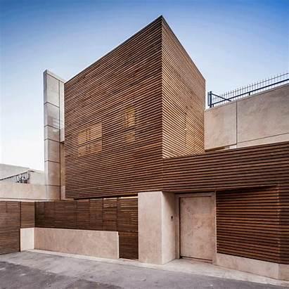 Iran Slats Facade Timber Architecture Wooden Filter