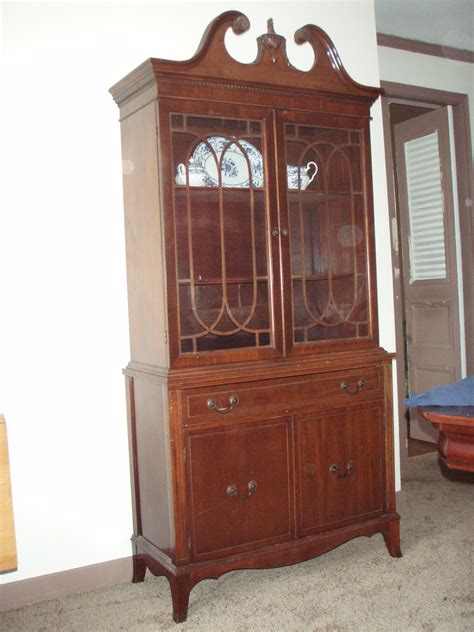antique china cabinets vintage mahogany china cabinet for antiques