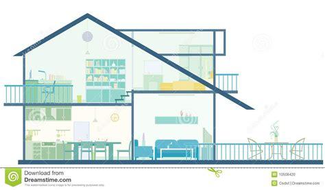 House Plan Stock Vector. Illustration Of House, Blueprint