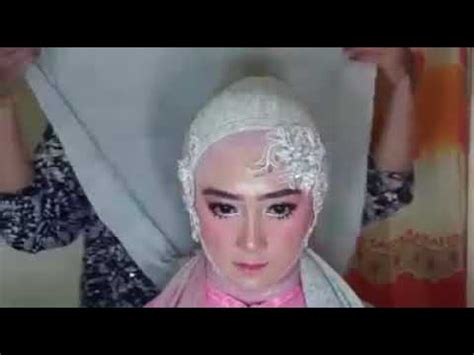 tutorial hijab pengantin youtube