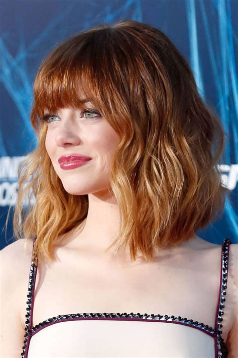 Hair Trend Wavy Lob Hairstyle
