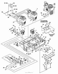 Bunton  Bobcat  Ryan 642221f Bunton Torpedo 19hp Kai W  52 Side Discharge Parts Diagram For Upper