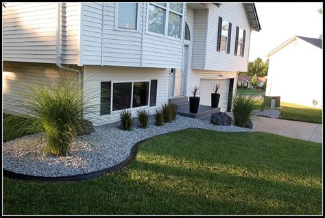 Stone Front of House Landscaping Ideas