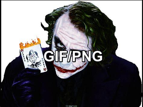 Including transparent png clip art. HEATH LEDGER JOKER HOLDING JOKER CARD GIF/PNG by JokerReality59 on DeviantArt