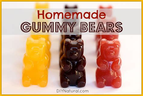 how to make gummy bears healthy snack ideas homemade gummy bears