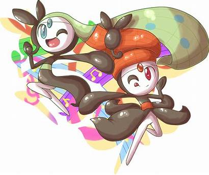 Meloetta Pokemon Idol Forms Thread Dances Smash