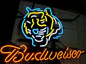 Wiki Neon Sign Blog Budweiser Bud Light NFLCINCINNATI