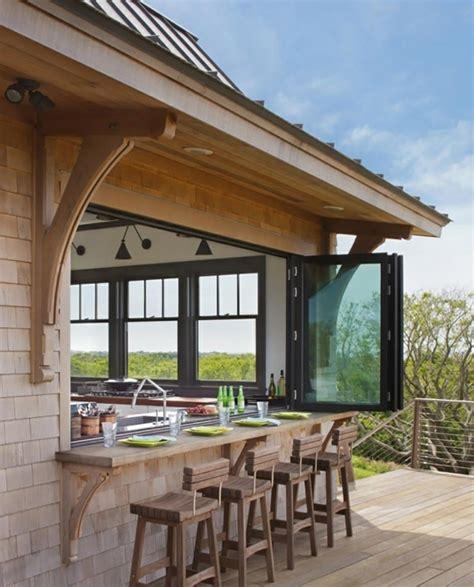 faire une cuisine d été cuisine d intérieur astucieusement transformée en cuisine
