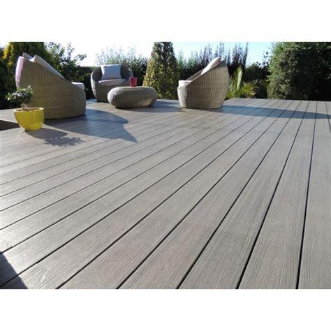 lames de terrasse bois composite profil semi plein neowood