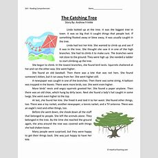 Third Grade Reading Comprehension Worksheets  Page 8 Of 10  Have Fun Teaching