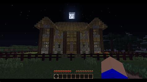 minecraft haunted house youtube