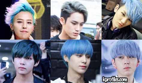 Who Rocks Blue Hair Kpop Boy Bands Edition Updated