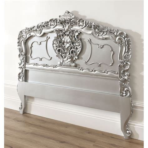 Antique Style Headboards by Silver Rococo Antique Headboard Available Now