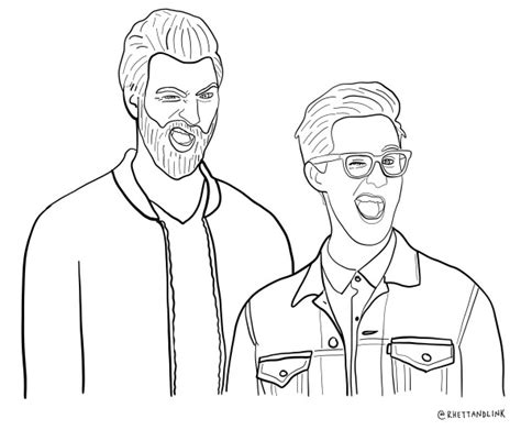 link coloring pages rhett and link coloring page https mobile