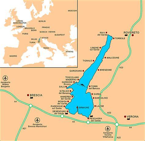 Salo Gardasee Karte