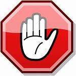 Stop Sign Clip Printable Clipart Hand Clipartion