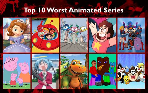 My Top 10 Worst Cartoons By Kingbilly97 On Deviantart