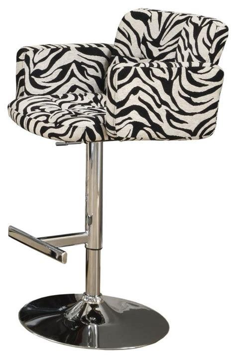 Zebra Bar Stools Regarding The Zebra Stool