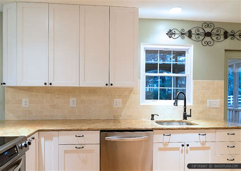 kitchen backsplash travertine tile backsplash photos ideas Travertine