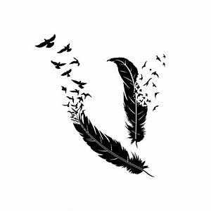 Dessin De Plume Facile : plume envol e d 39 oiseaux virgy 39 s ~ Melissatoandfro.com Idées de Décoration