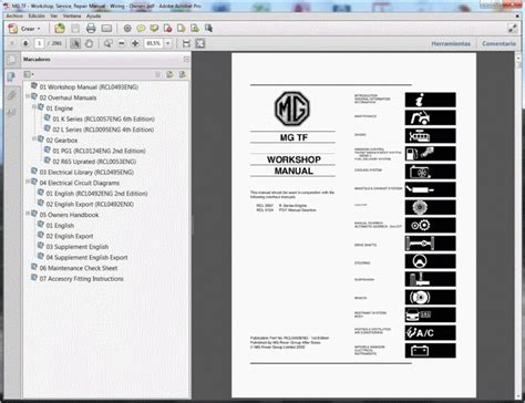 mg tf service manual wiring diagram owners manual