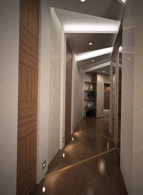beautiful design hallway  corridor home interior