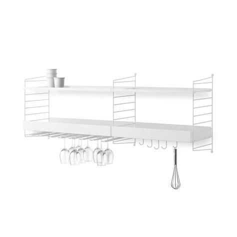 scaffali da cucina scaffale da cucina string s6a by string lovethesign