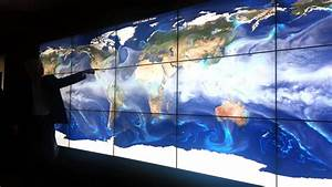 Earth Sciences precipitation models on the Hyperscreen at ...