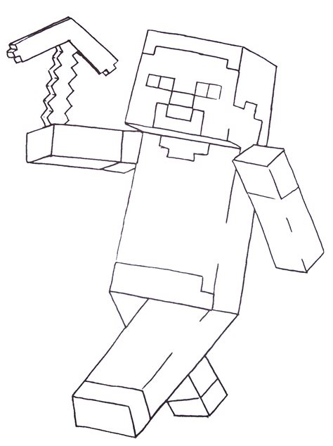 fun  printable coloring pages  boys including minecraft kids creative chaos