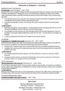 resume objective it manager manager resume objective sle template design