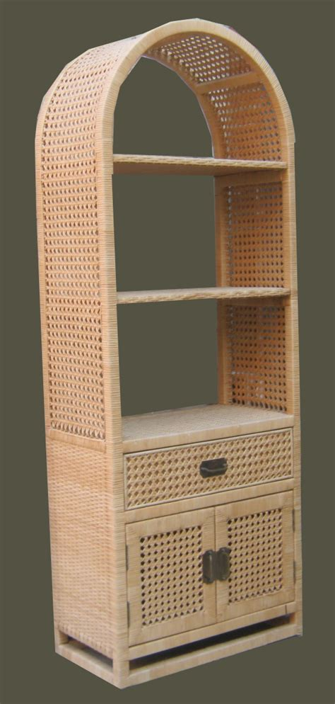 Furniture Etagere by Uhuru Furniture Collectibles Wicker Etagere Reduced Sold
