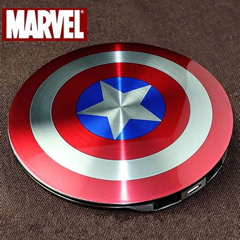 genuine marvel captain america shield mah external