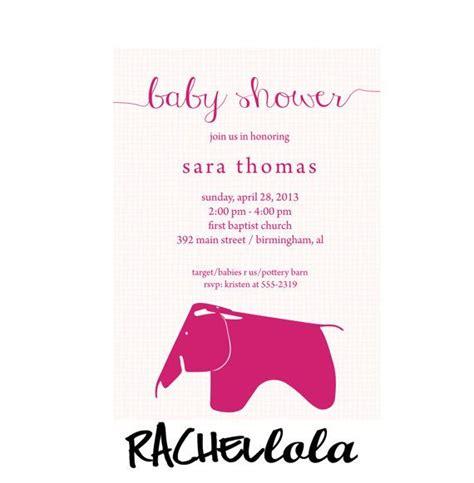 Baby shower invitation Printable DIY blue or pink modern