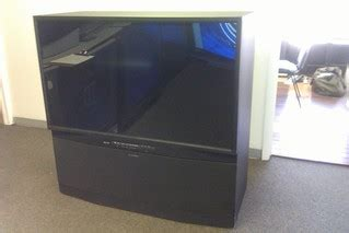 Mitsubishi Projection Tv L by Mitsubishi Hdila Rear Projection Tv 1080p 21 350 Flickr