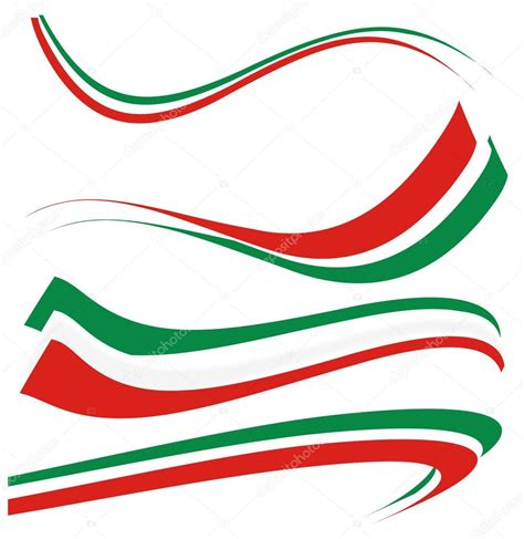 italian flag vector illustration stock set italian flag stock vector 169 doom ko 31244411 ital