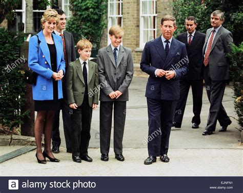 Prince William Third Left Poses At A Photocall With His