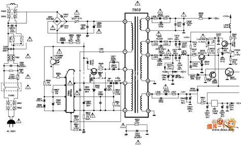 tcl fl tv power supply circuit diagram powersupply
