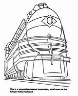 Train Coloring Pages Trains Printable Diesel Print Engine Freight Colouring Streamlined Sheets Rail Clipart Bnsf Cartoon Csx Real Go Railroad sketch template