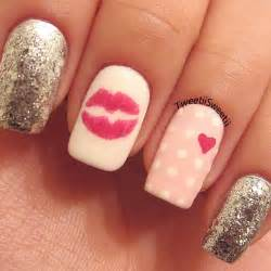 Cute love valentines day nail art ideas