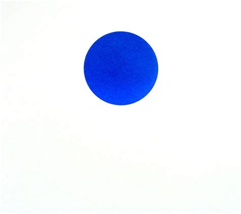 framed canvas prints for sale blue dot painting by shaver