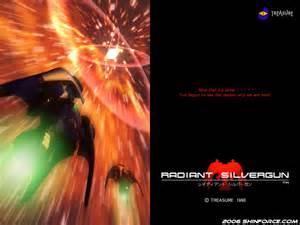 Radiant Silvergun Wallpaper / Sega Saturn Games | Sega ...