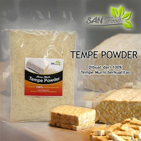 By pak usu on july 4, 2020july 4, 2020 in indonesian, side dish. Jual Tempe powder (Bubuk Tempe) untuk mpasi - Kab ...