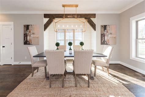 newly built home  farmhouse inspired interiors home bunch interior design ideas