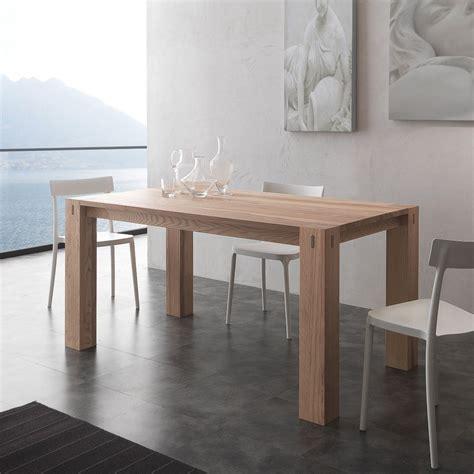tavola da pranzo allungabile tavolo da pranzo allungabile in legno massello fino a 260