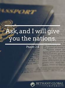 Ask, and I will... Medical Missions Quotes