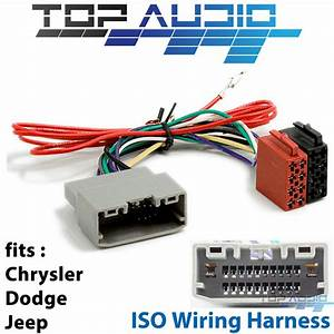 Jeep Commander Xk Wrangler Jk Iso Wiring Harness Plug Wire