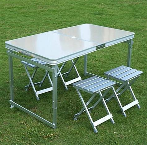 folding dining table portable outdoor furniture cing