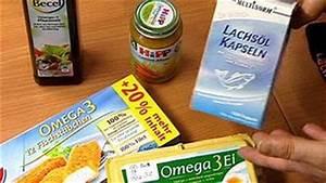 Omega 3 Fettsäuren Lebensmittel : wundermittel omega 3 w wie wissen ard das erste ~ Frokenaadalensverden.com Haus und Dekorationen