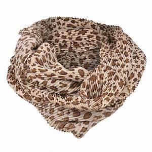 Chiffon Leopard Loop Scarf Women Infinity Scarves Female ...