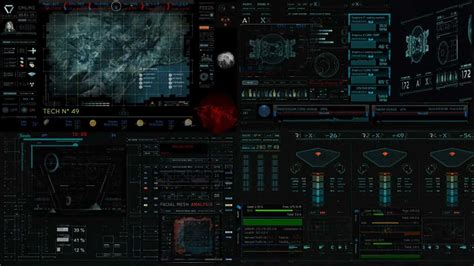 Animated Wallpaper Rainmeter - dreamscene rainmeter oblivion theme dual monitor